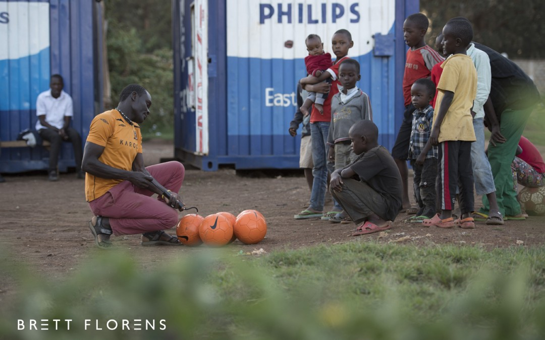 My trip to Kenya for Philips and the Dutch Football Association