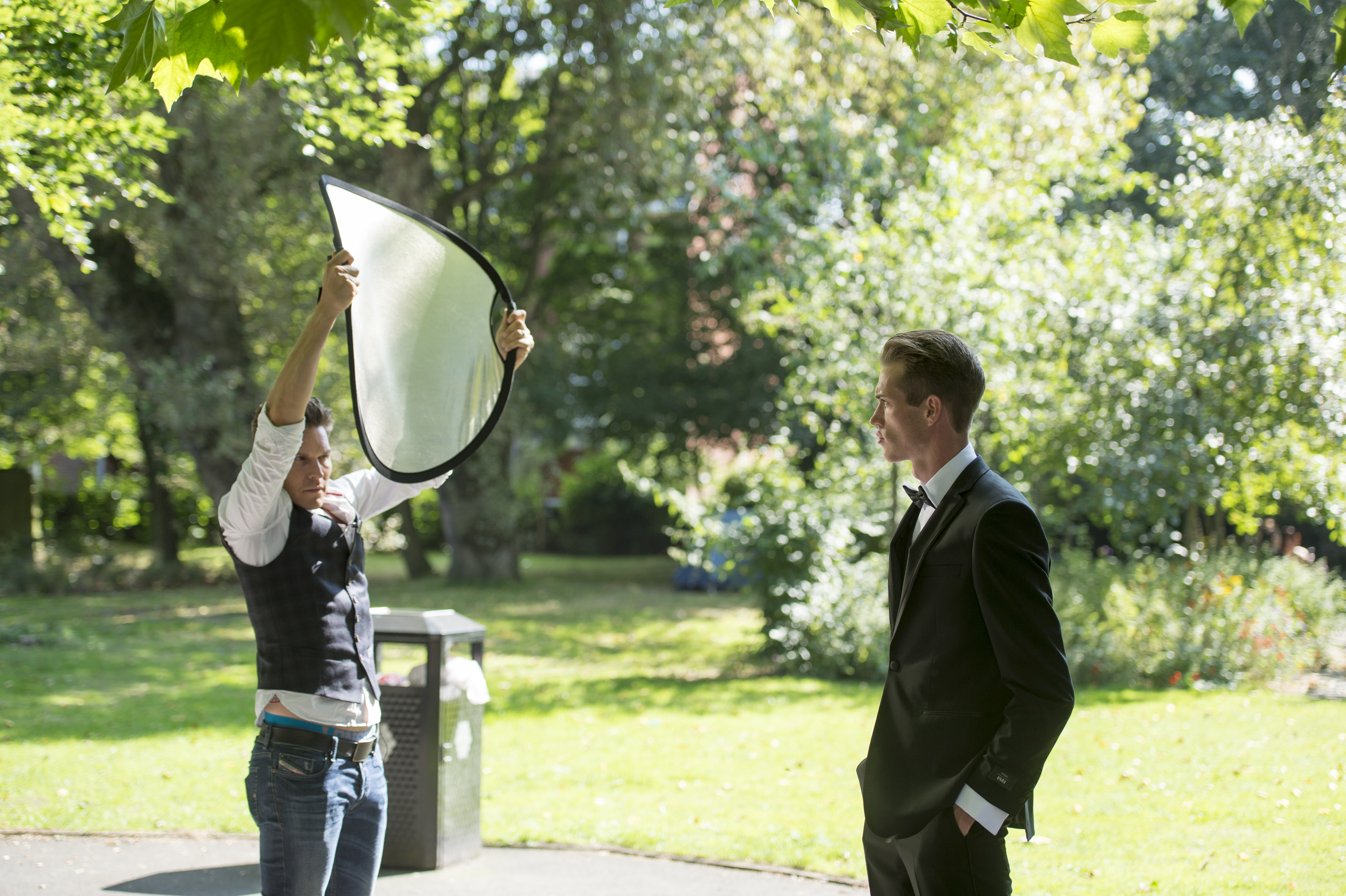 Did you know that a reflector can do this?