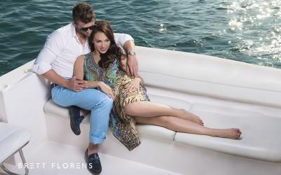 Zahirah and Andrew's engagement shoot in Dubai