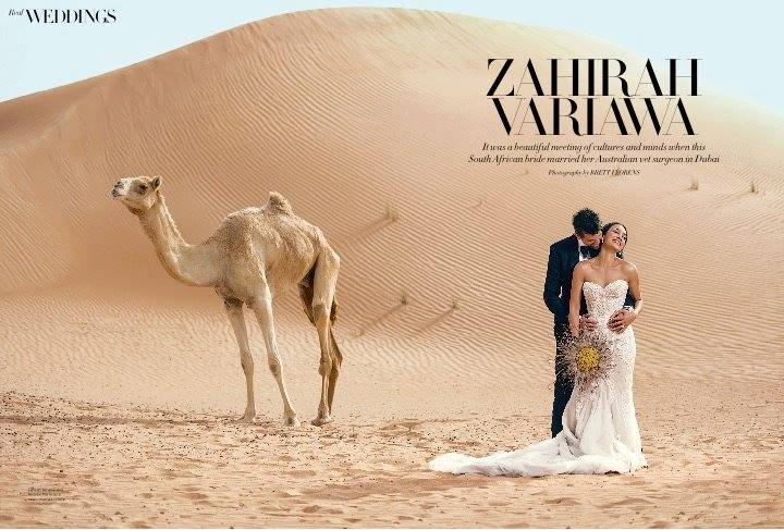 Wedding Feature in Harper's Bazaar