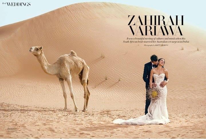 Wedding Feature in Harper's Bazaar